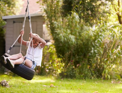 young-girl-playing-on-tire-swing-in-garden-PJQ4ZSN.jpg